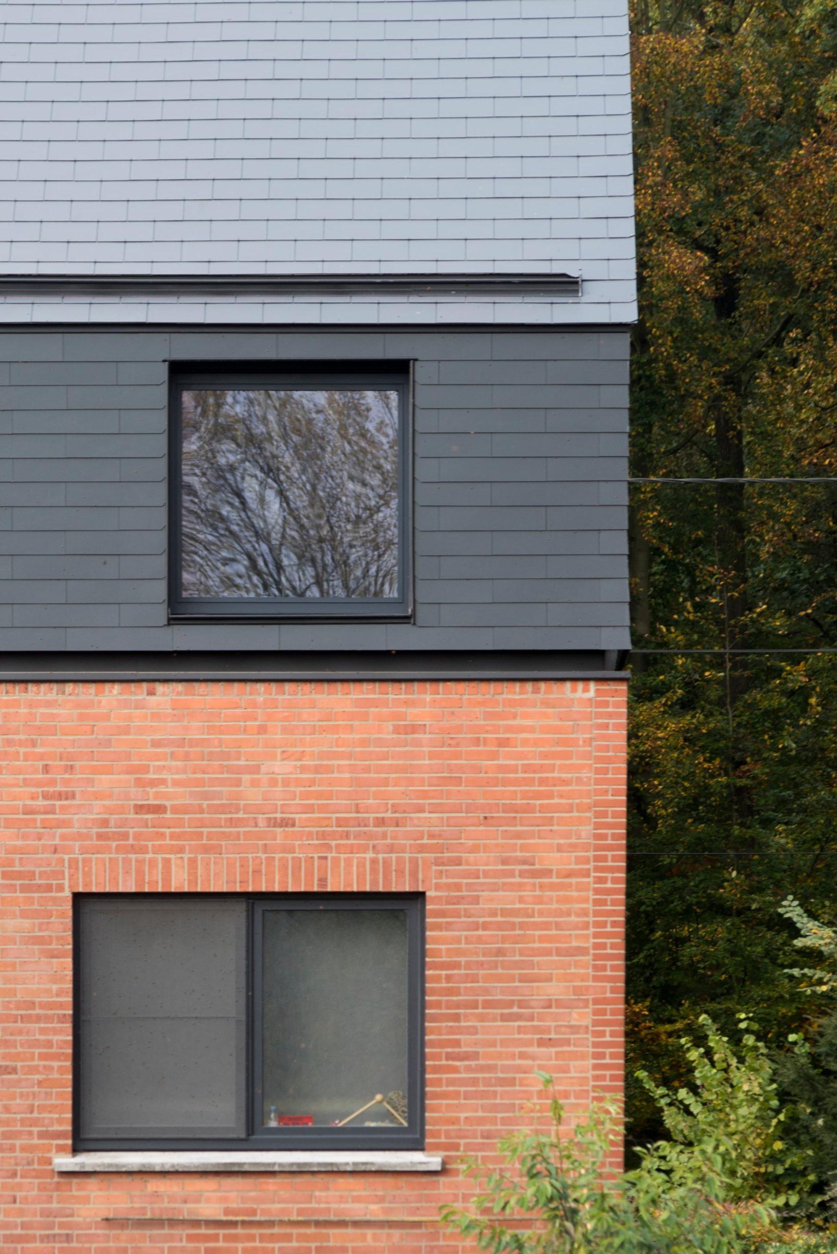 extension toiture bardage ardoise