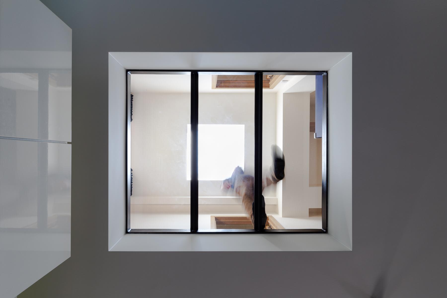 interieur dalle vitrée lumiere